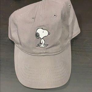 NWOT peanuts snoopy baseball cap